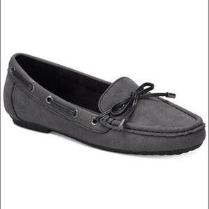 b.o.c Classic Carolann Gray Moccasin Loafers